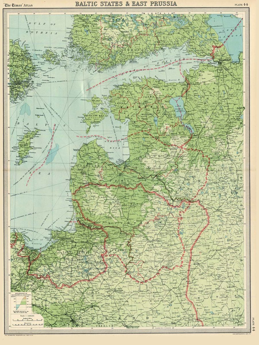 The Times atlas 1922